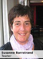 Kursledare teater Susanne Barrstrand på Hemgården Borås