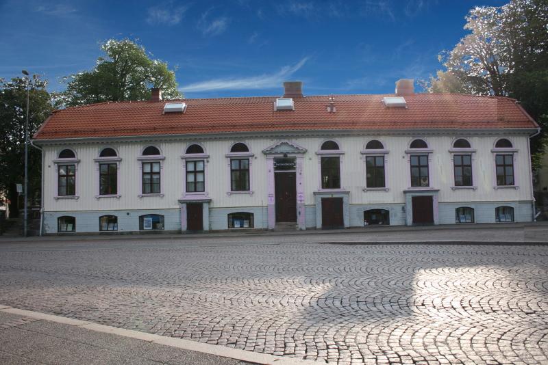 Hemgården Borås framsida frontsida mot busstorget