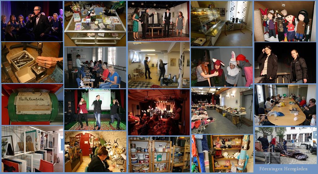 Utbud kurser evenemang aktiviteter på Hemgården i Borås
