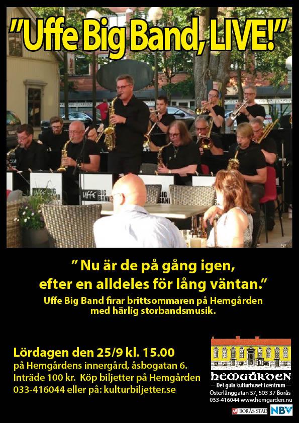 Uffe Big Band på Hemgården Borås